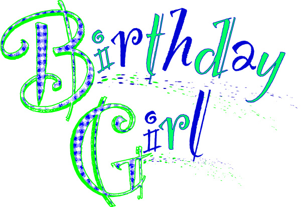 Birthday Girl Clip Art