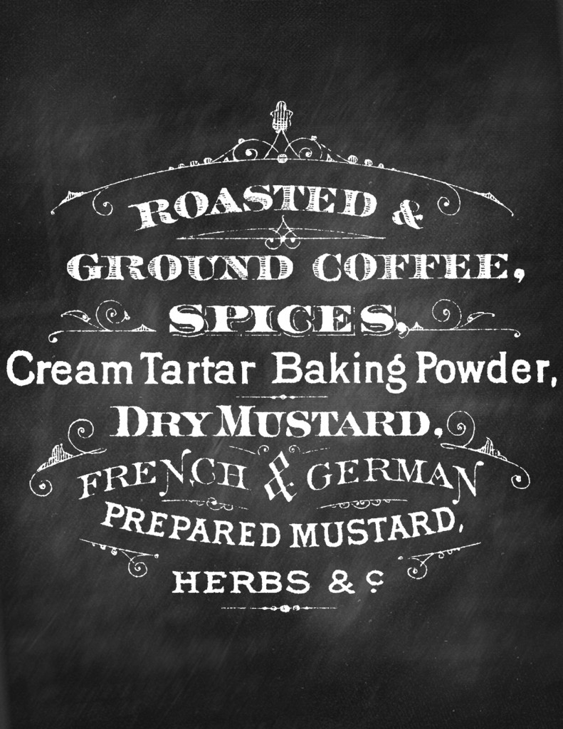 6 Images of Free Printable Chalkboard Coffee Sign