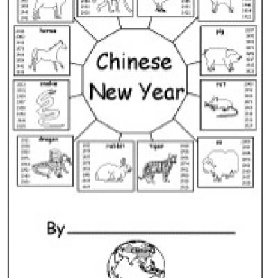 5 Images of Chinese New Year Free Printables