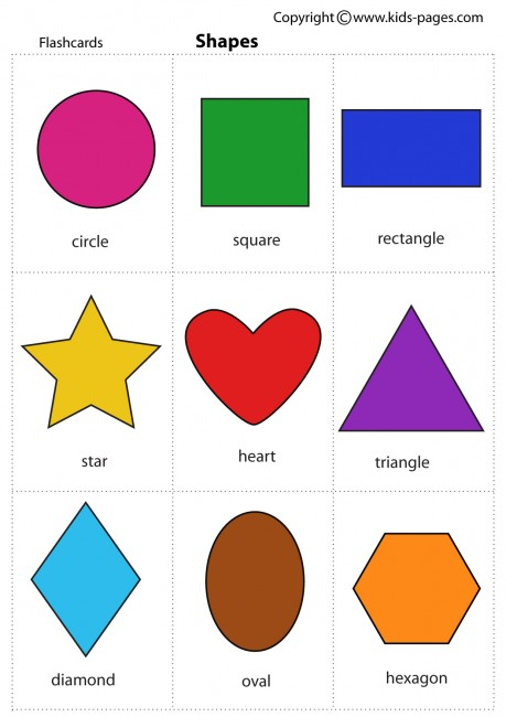 6 Images of Printable Shapes For Toddlers