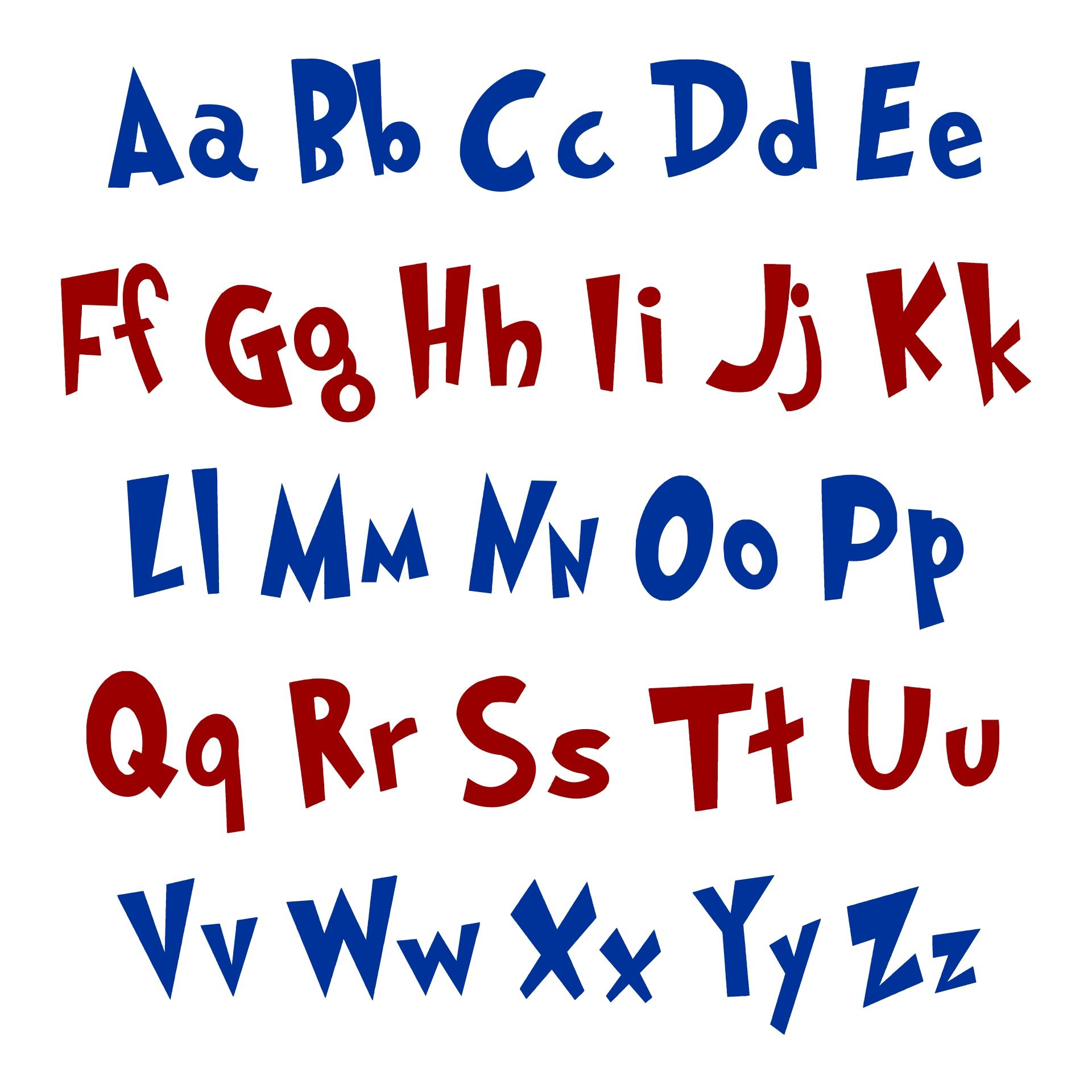 9 Images of Dr. Seuss Alphabet Printables