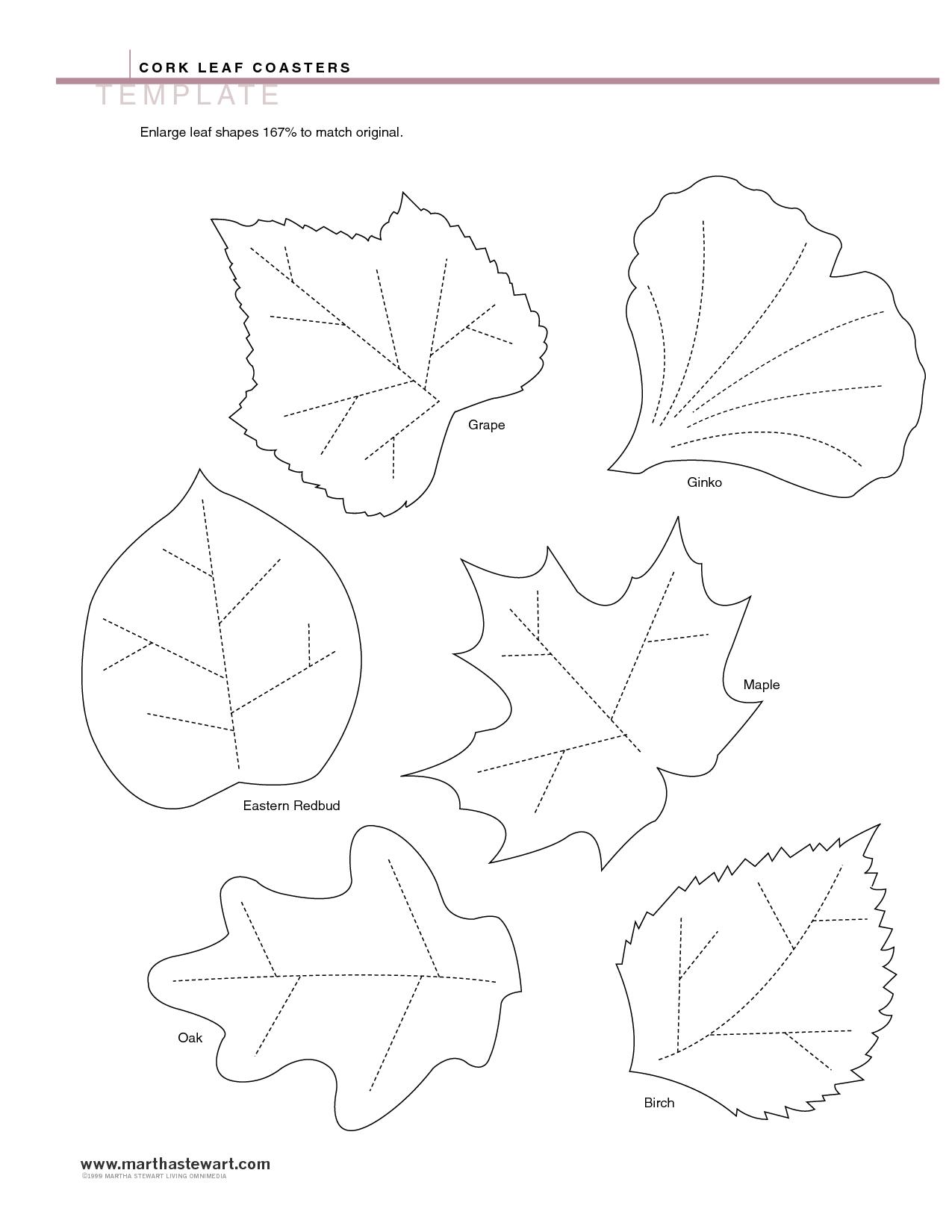 4 Best Images of Leaf Templates Printable PDF - Printable ...
