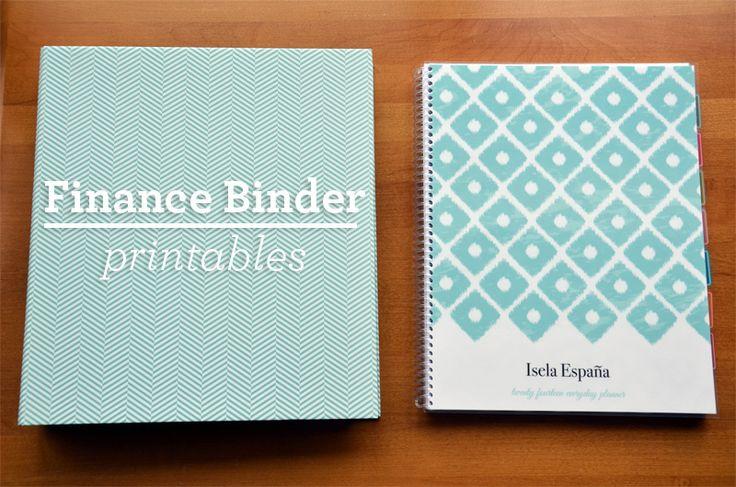 Finance Binder Printables Free