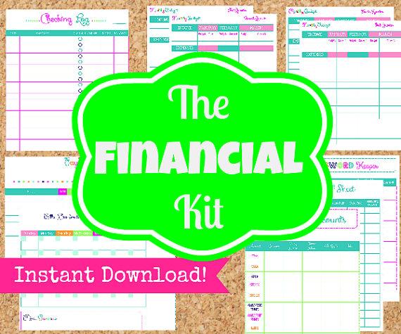 Financial Management Binder Printables