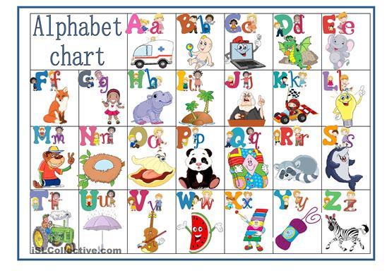 6 Best Images of English Alphabet Chart Printable - English ...