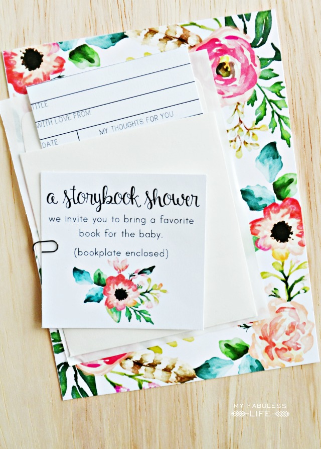 6 Images of Printable Invitation Inserts