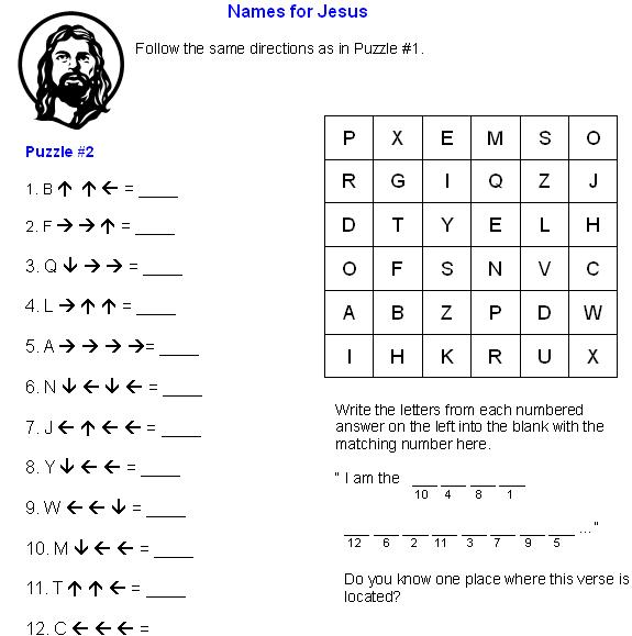 8 Images of Bible Puzzles Free Printables