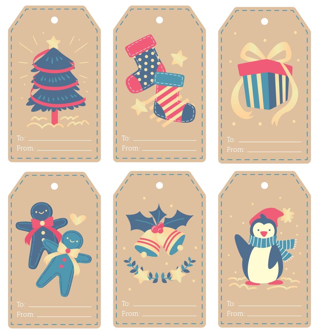 8 Images of Printable Christmas Gift Tags For Jars