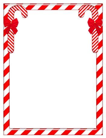 Santa Border For Letters christmas letter border templates. whetink.co