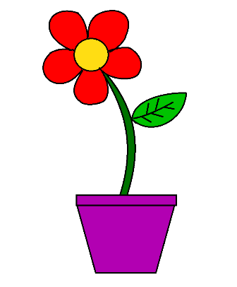 Free Printable Colored Flowers