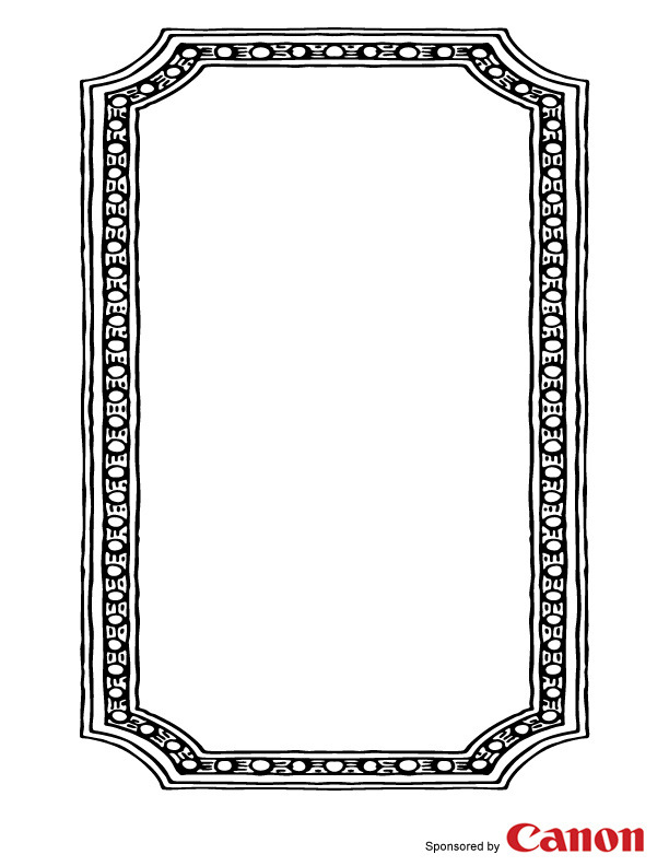6 Images of Frame Templates Printables