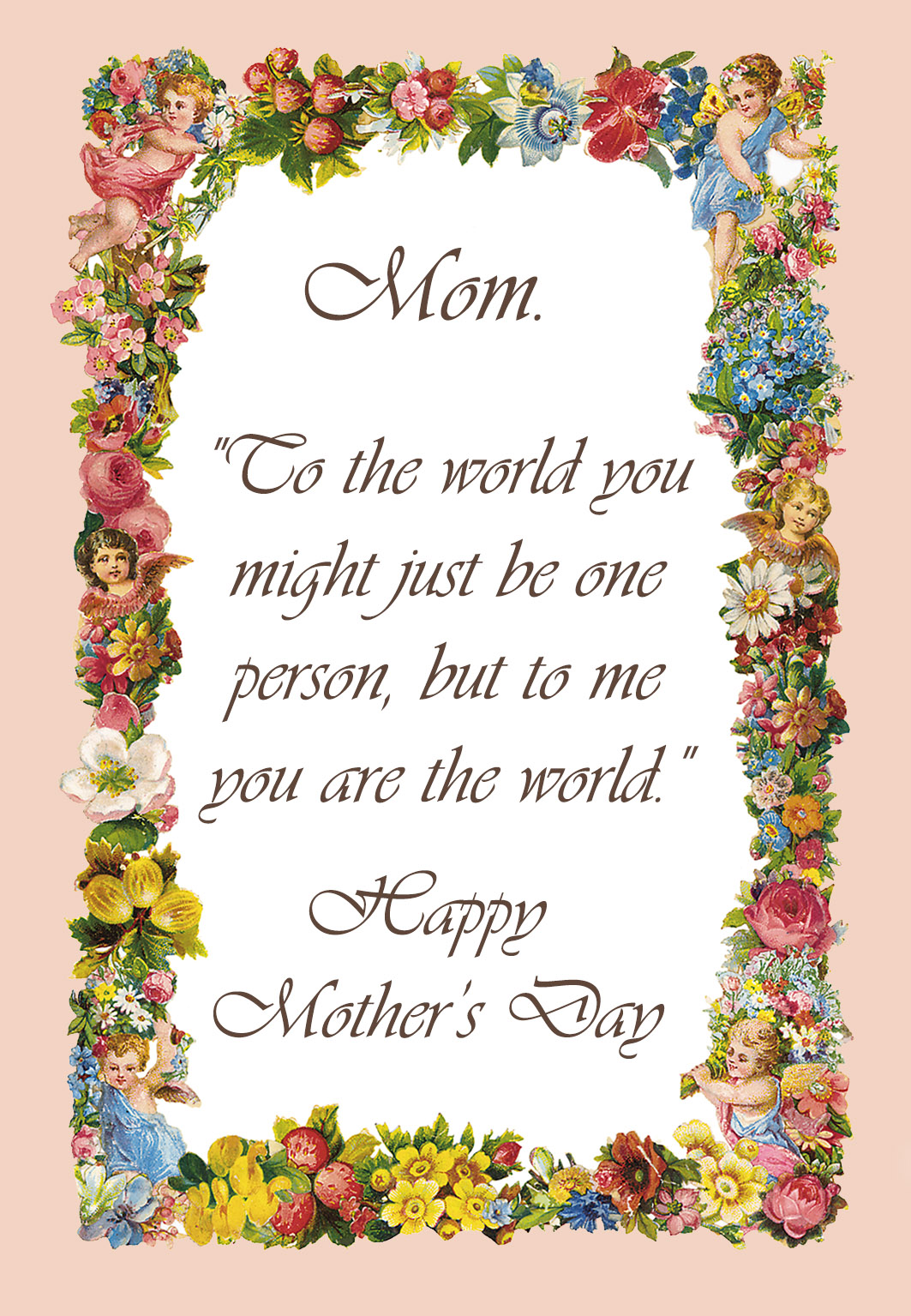 Free Printable Mother Day Poems
