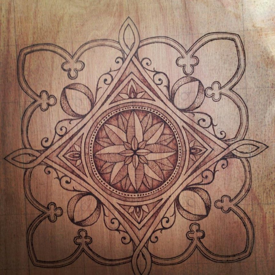 7 Images of Printable Pyrography Patterns