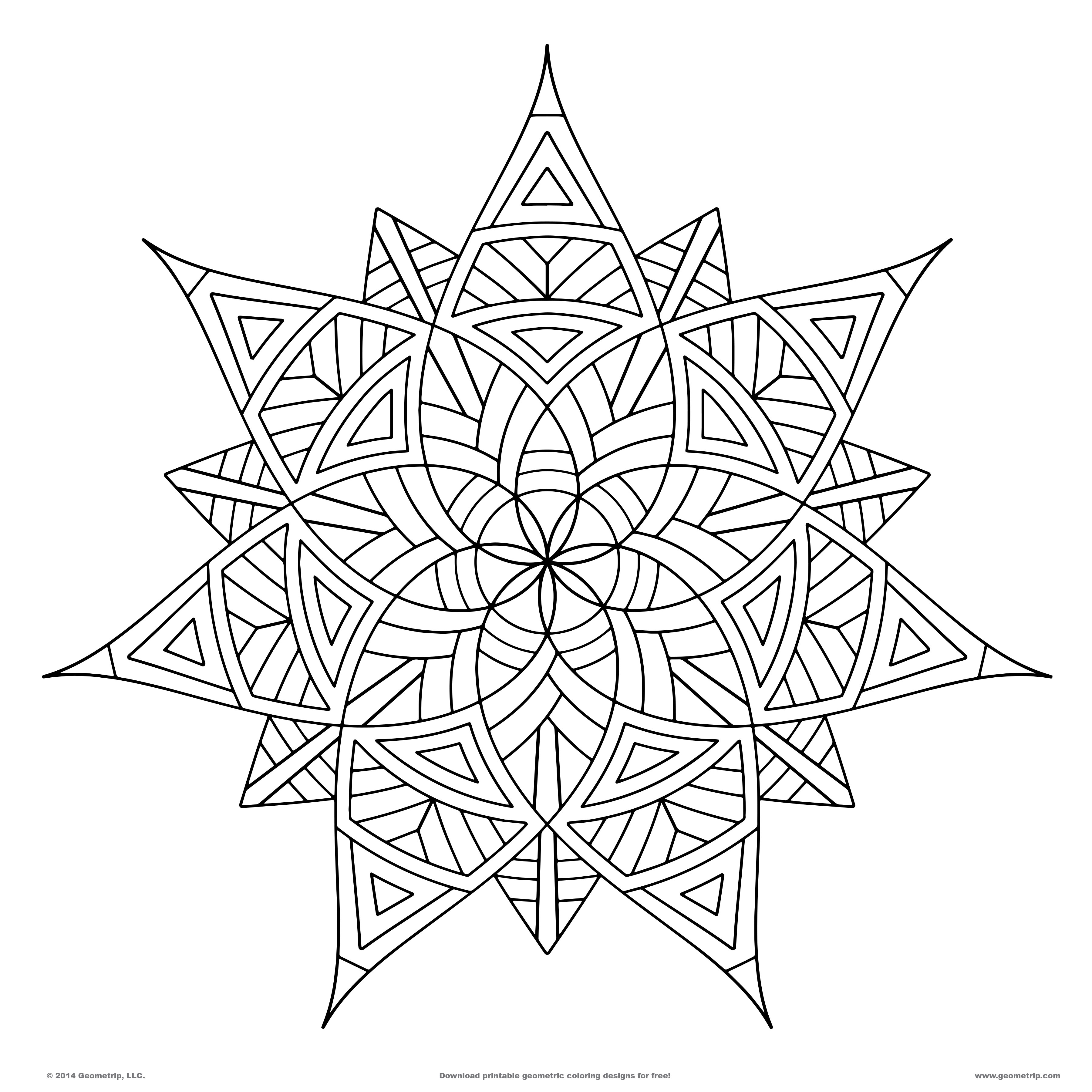 Geometric Line Design : Best images of line designs geometry printable