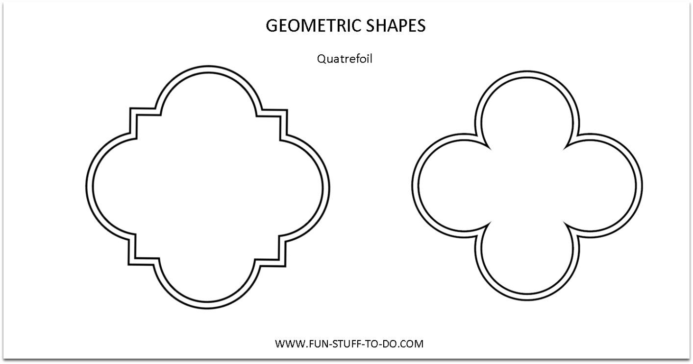 4 Best Images Of Basic Shapes Outline Printable