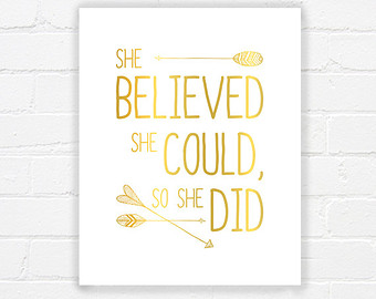 Gold Wall Art Quotes Printable