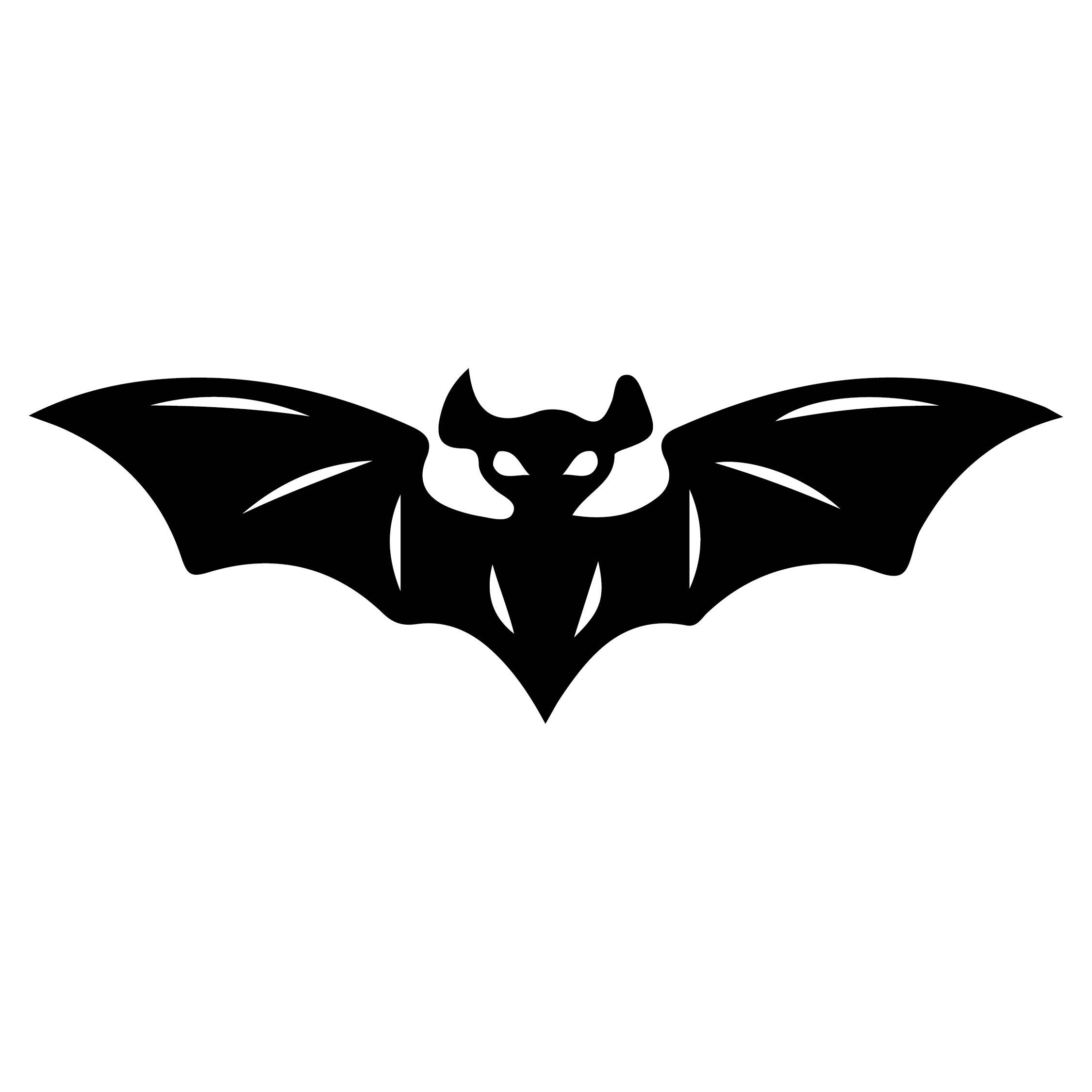 Halloween Bat Cut Out Templates