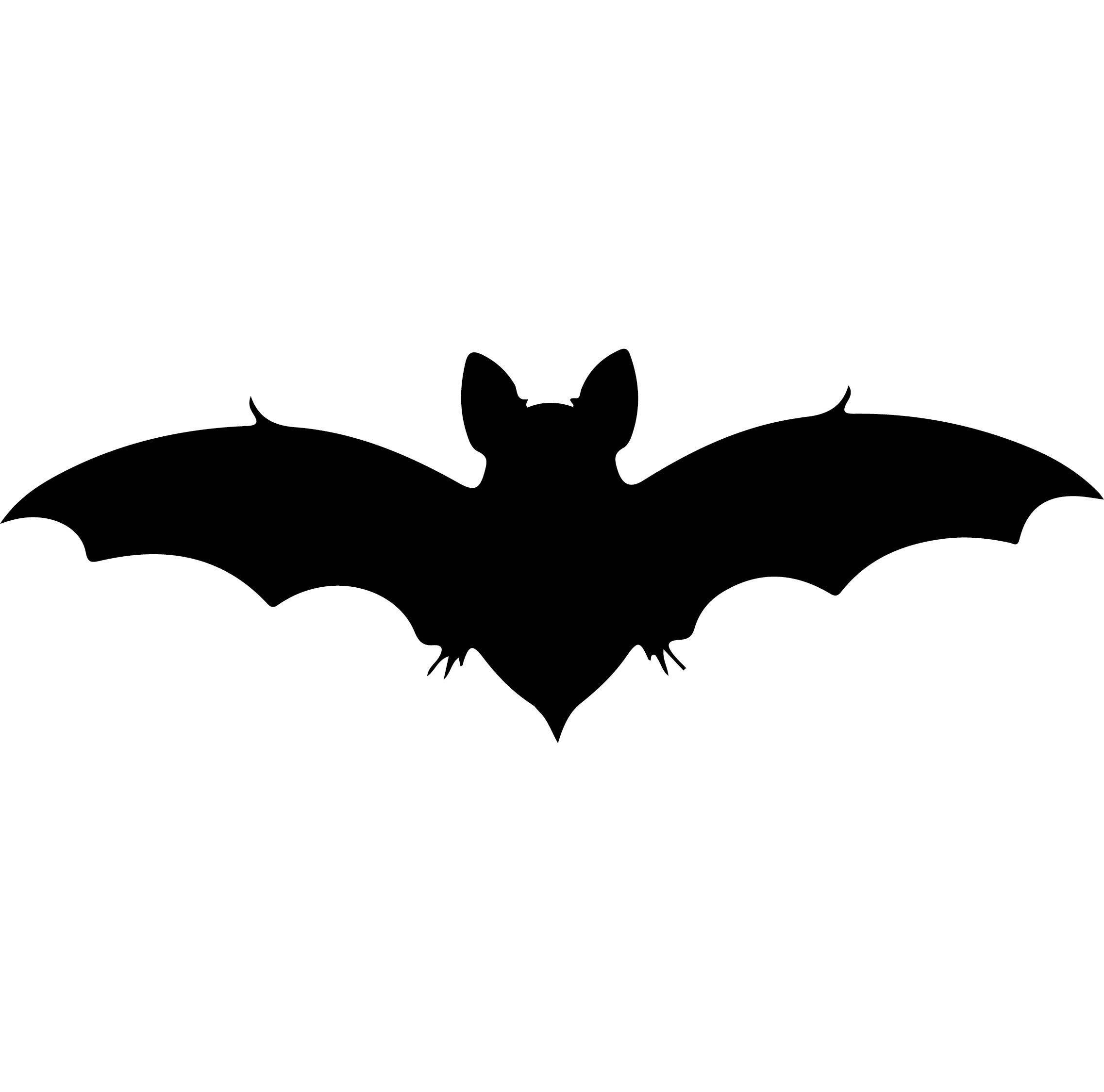 Halloween Bats Cut Outs Printable