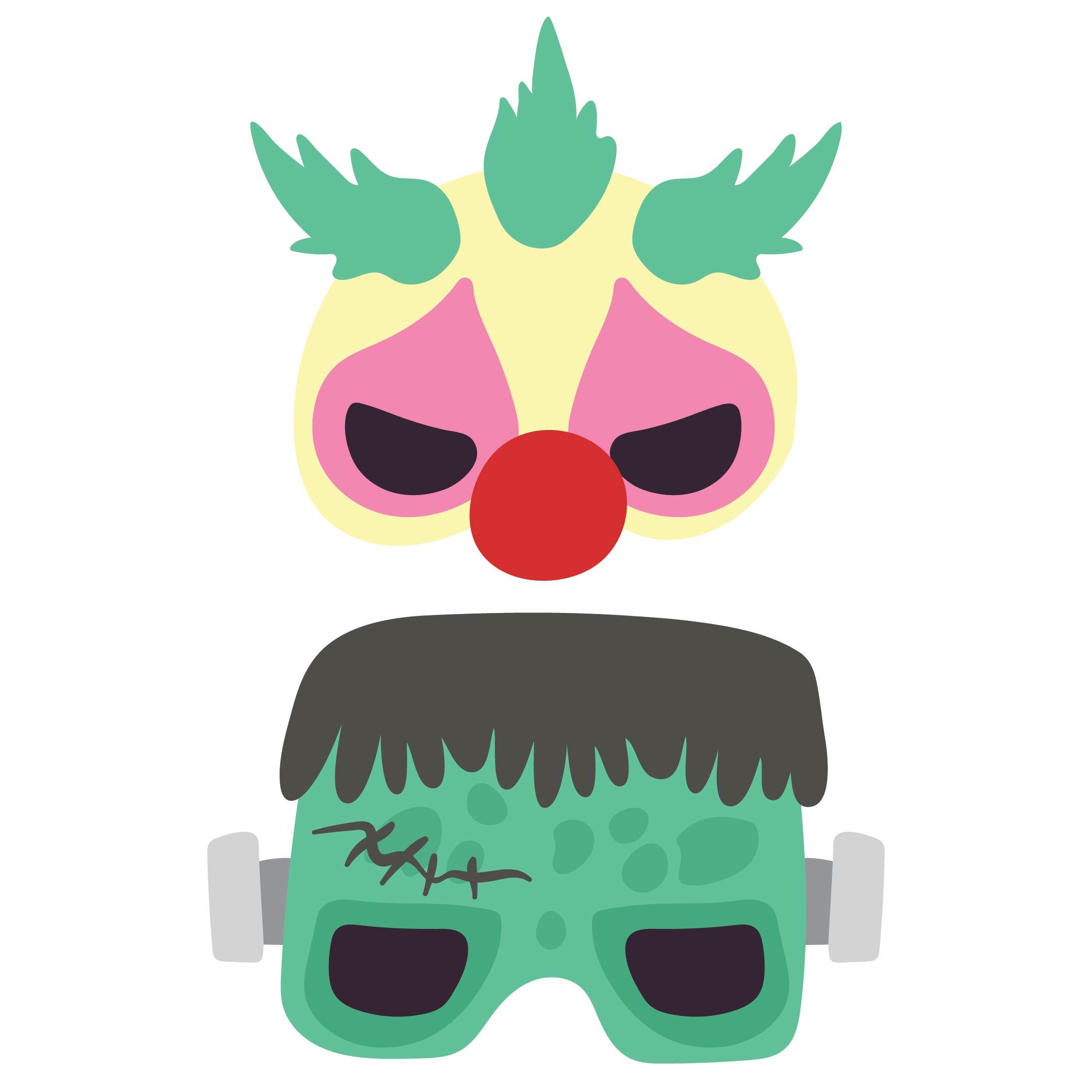 Halloween Mask Templates Printable Free