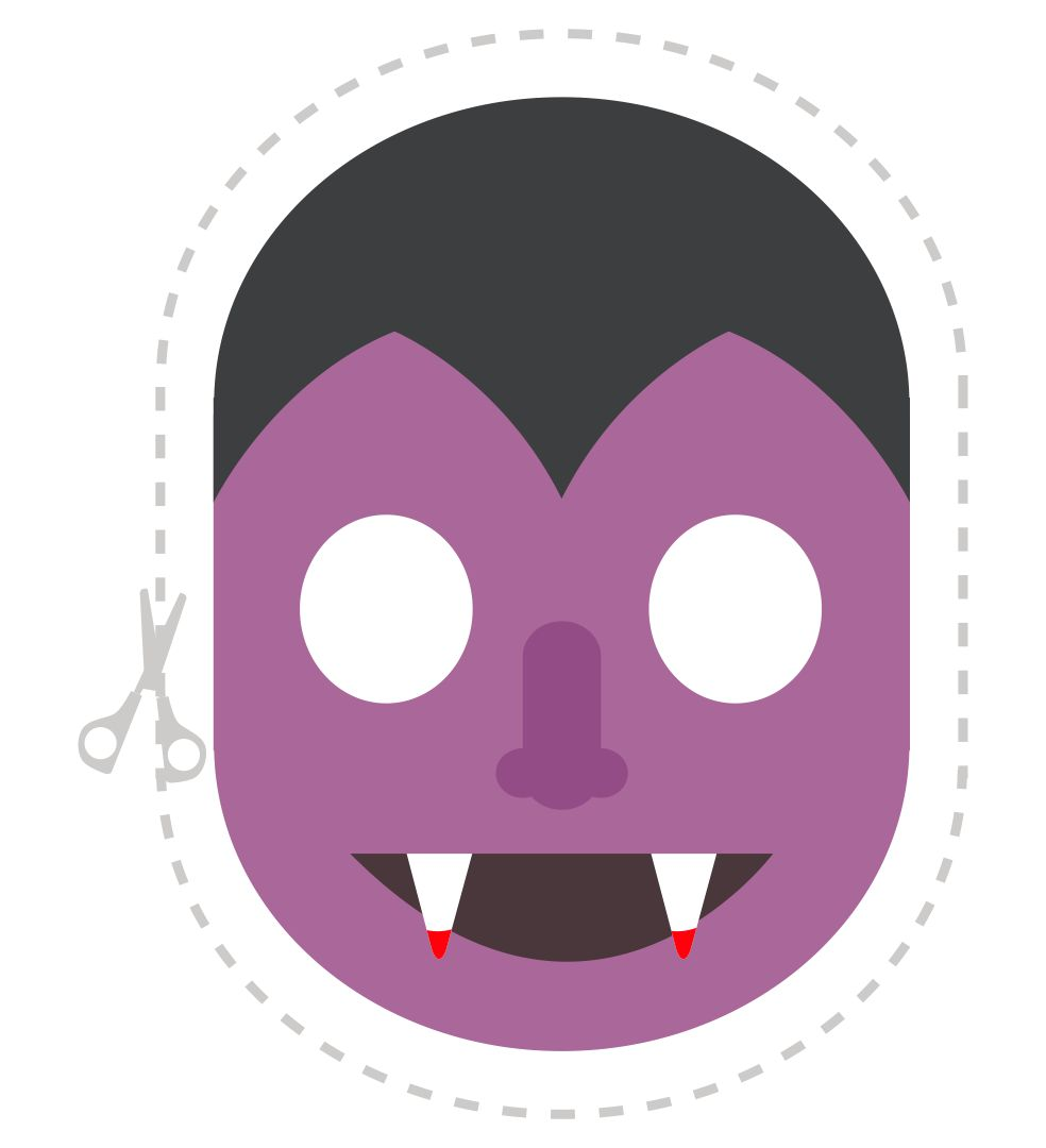 7 Images of Halloween Mask Printable Templates