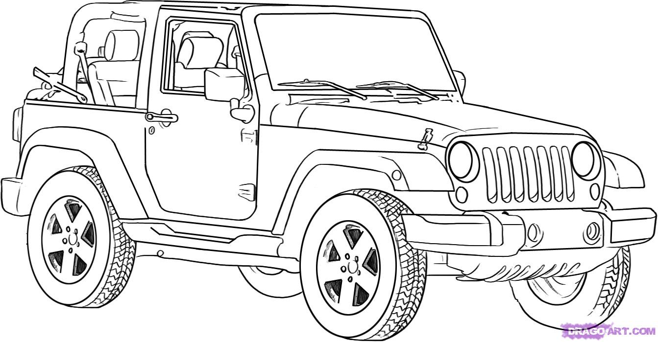 6 Images of Free Printable Safari Jeep