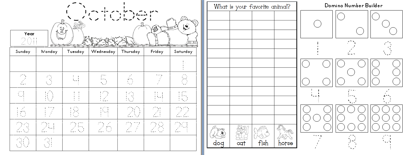 Kindergarten Calendar Sheets : Kindergarten worksheets calendar activities morning work