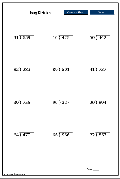 Number Names Worksheets division without remainders worksheets : 8 Best Images of Free Printable Worksheets Division With Remainder ...