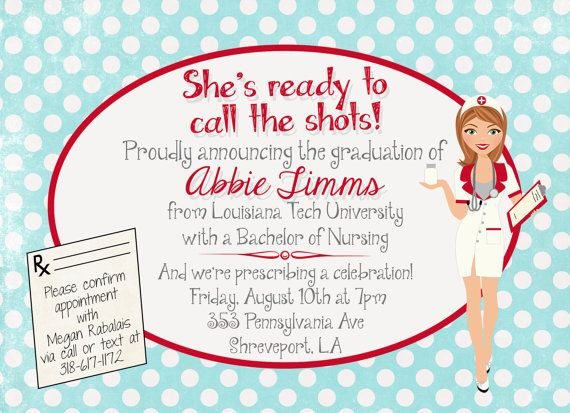 6 Images of Free Printable Nursing Invitations Parties