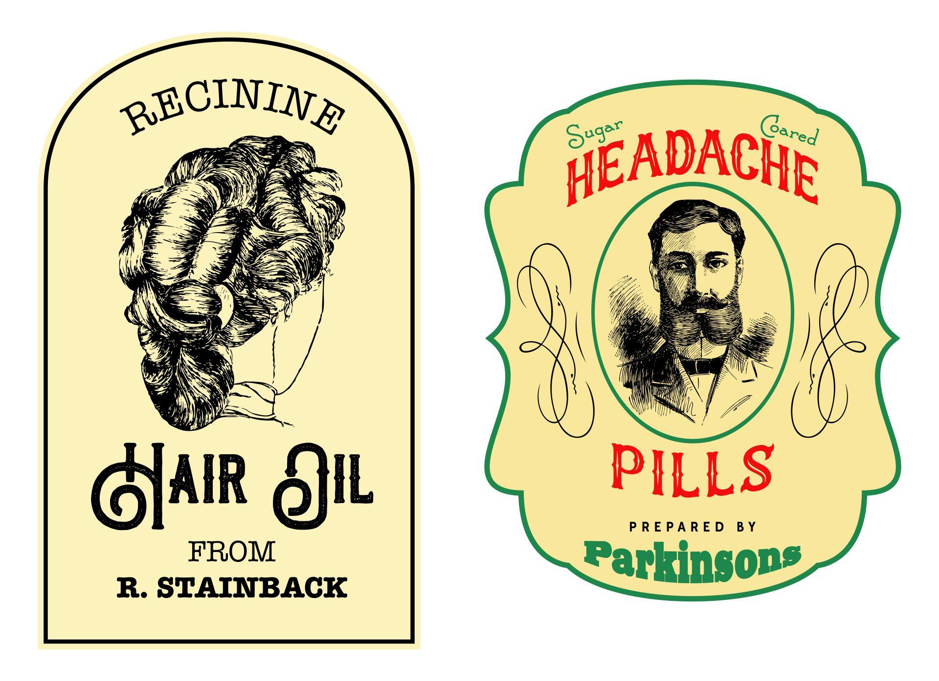 8 best images of printable medicine labels vintage