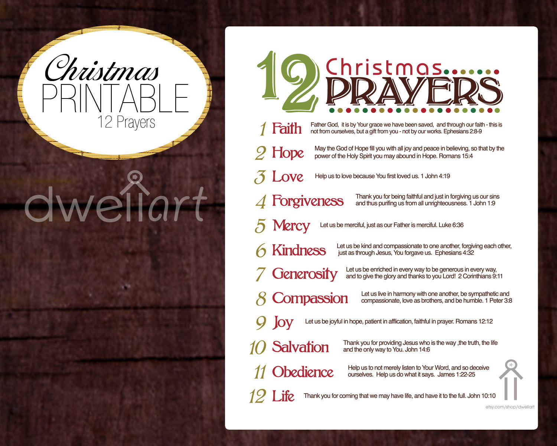 9 Images of Free Christian Christmas Printable Wall Art