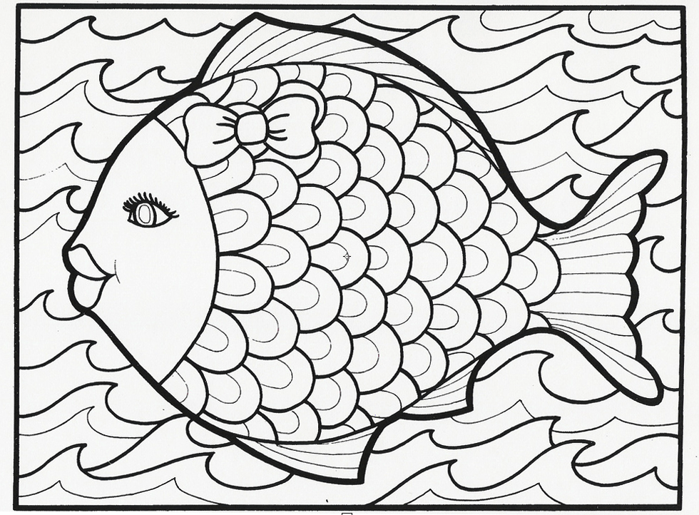 4 Images of Summertime Coloring Pages Free Printables