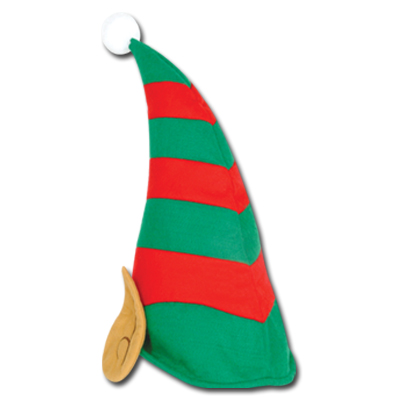 4 Images of Felt Elf Hat Pattern Printable
