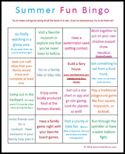6 Images of Printable Summer Bingo Fun