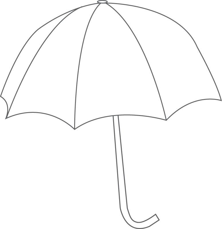 4 Images of Printable Beach Umbrella