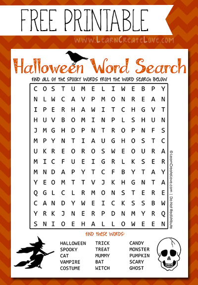 6 Images of 10 Word Searches Printable