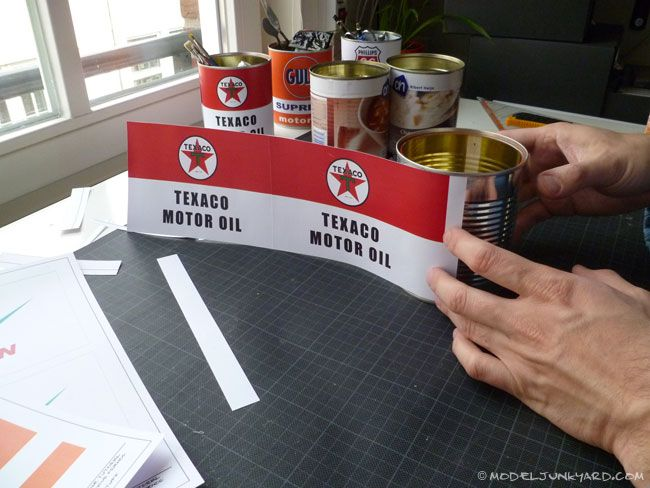 8 Images of Oil Can Labels Printable