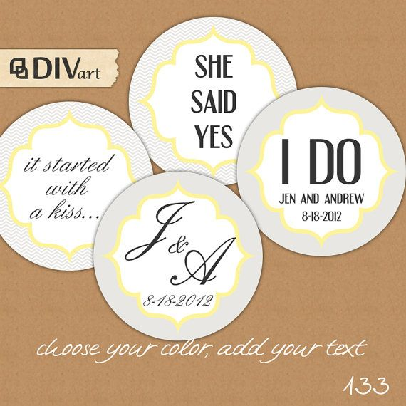 9 Images of Wedding Printable Gift Tags