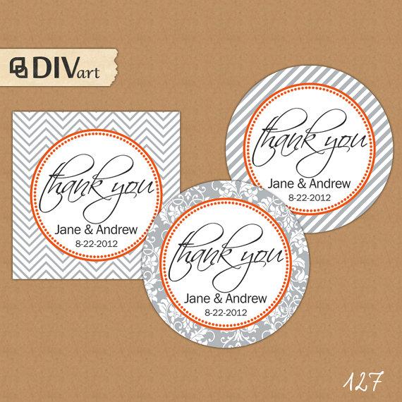 Wedding gift tag printables