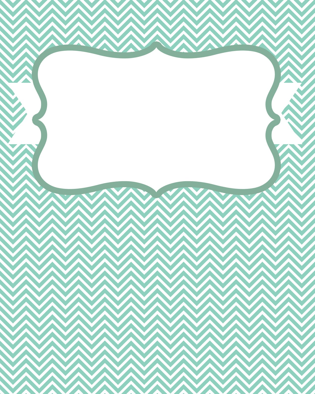 8 best images of blank chevron binder cover printables for Cool binder cover templates