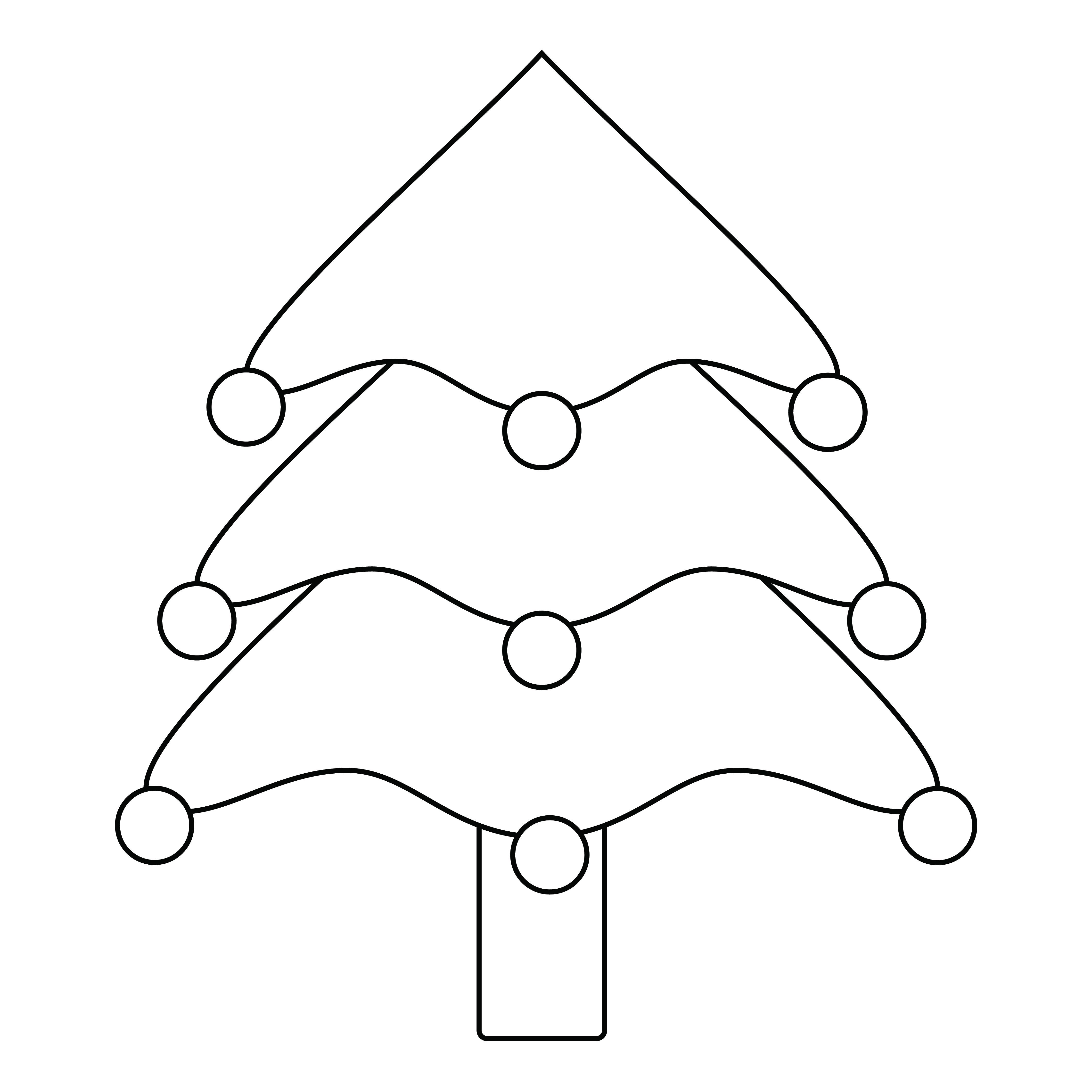 Christmas Tree Pattern Printable