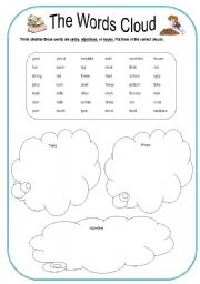 5 Best Images of Printable Cloud Worksheets - Printable Cloud Type ...