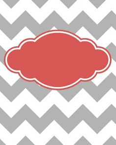 8 Images of Blank Chevron Binder Cover Printables