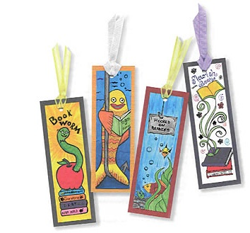 9 best images of printable bookmarks to color heat free for Create your own bookmark template