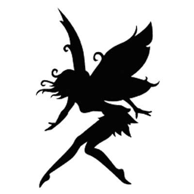 4 Images of Printable Fairy Stencils