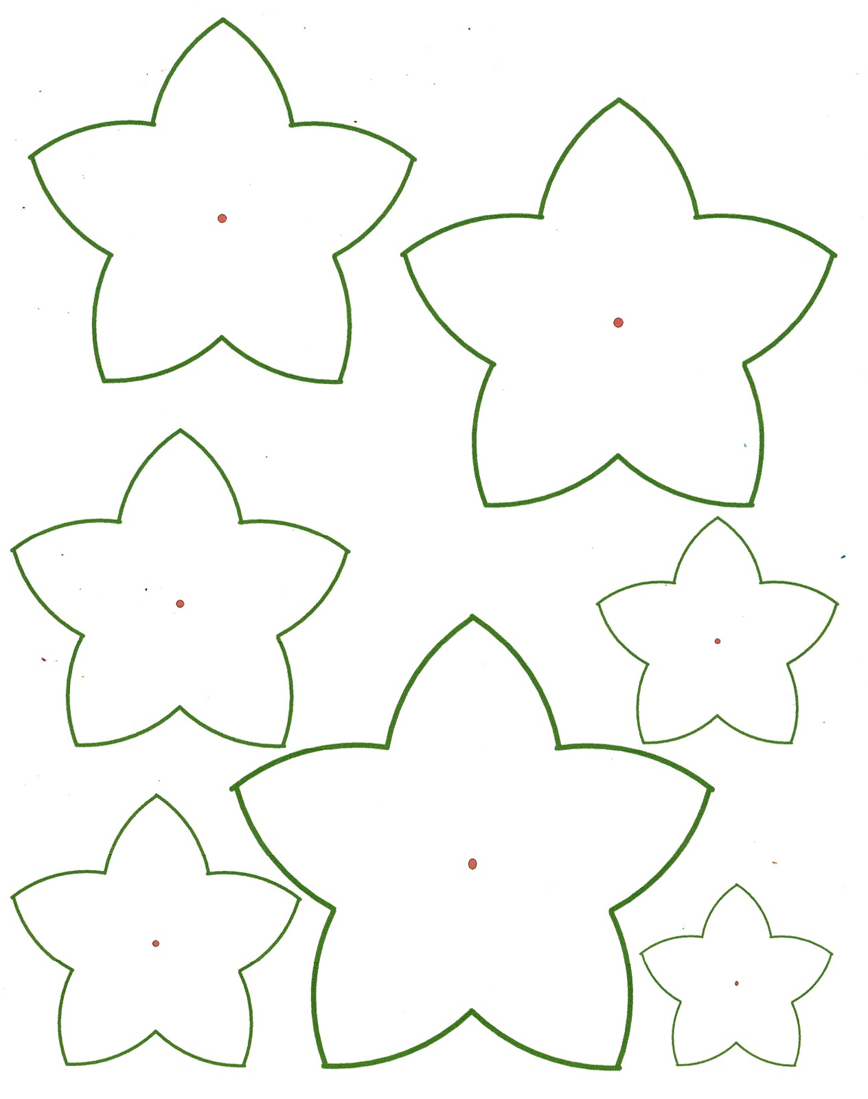 Best Images of Printable Paper Flowers - Free Printable Paper ...