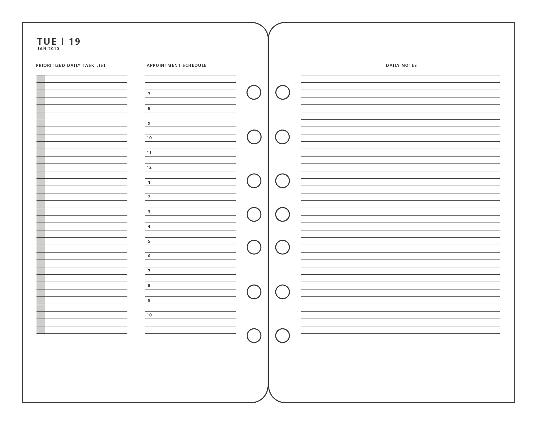 6 best images of franklin covey printable pages franklin With franklin covey planner templates