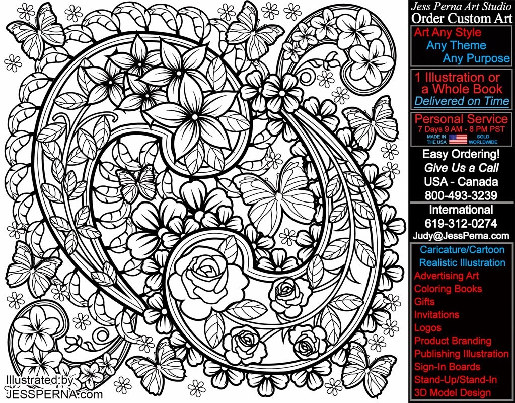 9 Images of Modern Art Free Printable Paisley