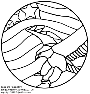 4 Images of Free Printable Eagle Patterns
