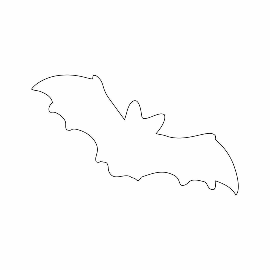 Printable Bat Stencils
