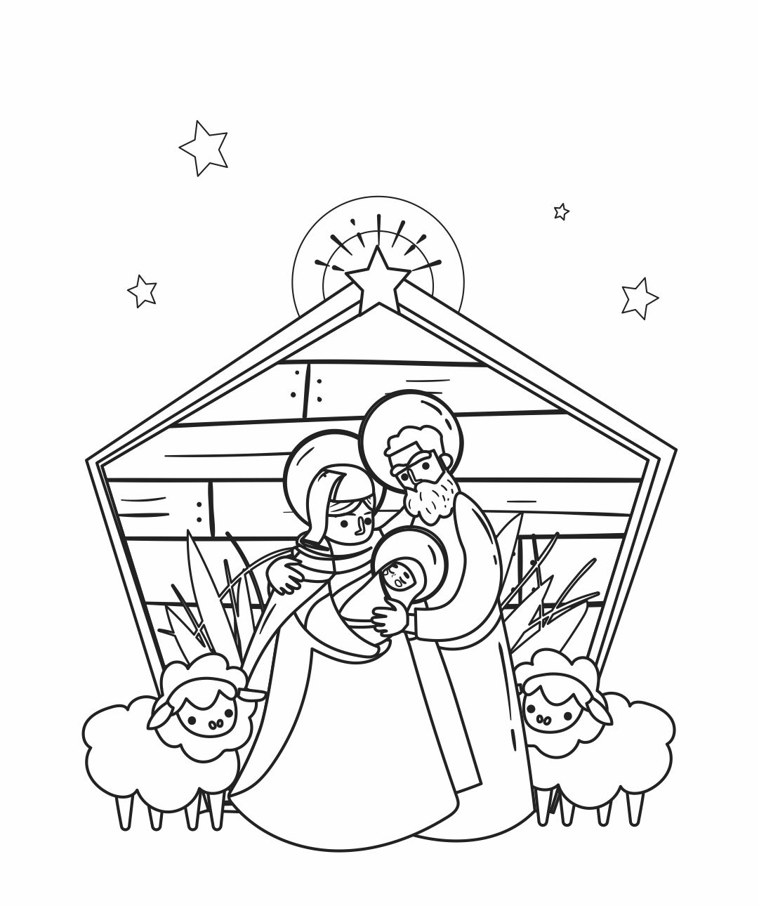 7 Images of Christmas Coloring Printable Invitations